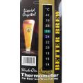Термометр жидкокристаллический самоклеящийся, 14-32 °C