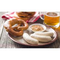 Белые Мюнхенские колбаски из свинины