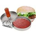 Пресс для гамбургеров металлический,  D11 см