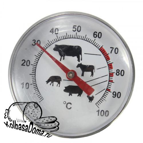 Термометр для мяса со щупом иглой и креплением (К)