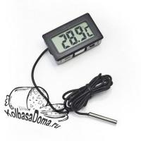 Термометр цифровой со щупом на проводе