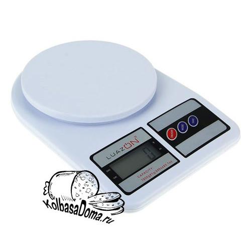 Весы  электронные кухонные, до 7 кг